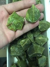 1lb Wholesale Green Opal Bulk Rough Stones Natural For Tumbling Madagascar
