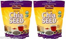 2 x 32 oz Bags Nutiva ORGANIC CHIA SEED Ancient Super food, Total 64 oz