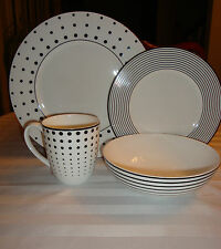 Dining Redesigned By MIKASA CHEERS Bone China 4pc Place Setting NEW IN BOX
