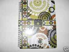 NEW Vera Bradley COCOA MOSS Mini Notebook with Pocket RARE!