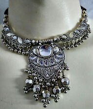 New Kuchi Tribal Necklace Earring Gypsy Hippie Dance Boho Skirt Costume Jewelry