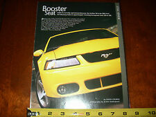 2003 FORD SVT MUSTANG COBRA - ORIGINAL ARTICLE