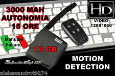 Spy Micro Camera Spia HD MOTION DETECTION VIDEOCAMERA 16 GB telecomando 1280x960