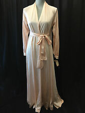 NOS Grand Sweep RARE OLGA Blush Goddess Robe Peignoir Style # 9765 Size Small
