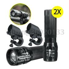 2Pcs 1200LM LED Luz Faro Bicicleta Linterna Frontal Lámpara Headlight Headlamp