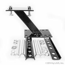 Boat & Utility Trailer Spare Tire Holder Wheel Mount Rack Bracket Carrier New