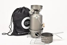 Ghillie Kettle/Storm Kettle 1.0L Explorer Full Kit Hard Anodised.