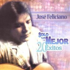 Solo lo Mejor: 20 Exitos by Jose' Feliciano (CD, Brand New Fast Shipping !