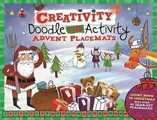 Doodle Mats: Doodle and Activity Advent Placemats : With 36 Tear-Out Doodle...