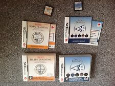 Nintendo DS GAME. Sight Training & More Brain Training in scatola con le istruzioni.