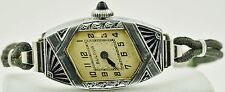 Vintage Bulova Art Deco 15 Jewel Wrist Watch
