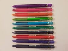 PILOT FRIXION-BALL 0.5mm ERASABLE Rollerball pen (10-color set )