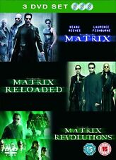 The Matrix Trilogy : Matrix / Matrix Reloaded / Matrix Revolutions DVD