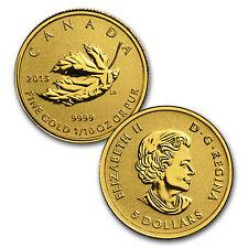 2015 4-Coin Gold Canadian Fractional Maple Leaf Set (1.4 oz)