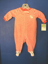CARTERS~Pink Striped~Pink KITTY CATS~ SLEEPER / OUTFIT~6 Months~NWT