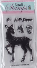 DEER - Hot Off The Press (HOTP) - Mini Clear Stamp Set