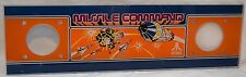 Vintage 1980 Atari MISSILE COMMAND Upright Arcade Game Cabinet Marquee Sign