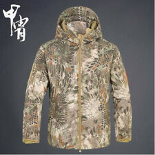 Men Women Army Military Tactical Jacket Soft Shell Waterproof Hunting Coat