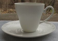 Rosenthal Romance White Demitasse Cup and Saucer Set Studio Linie Germany