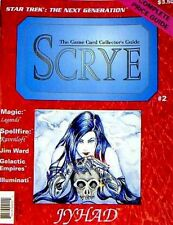 Scrye Magazine Issue #2 Brand New NM/M 1994 Magic the Gathering Price Guide .