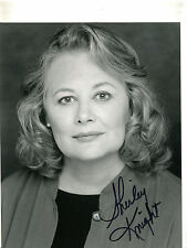 Autographed Signed Shirley Knight 8x10 Photo jhaut
