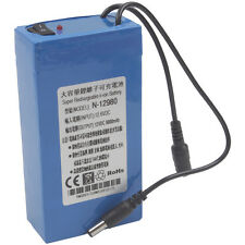 DC12V 9800mAh Super Battery, Rechargeable Portable Li-ion Battery Battery Pack