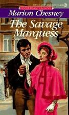 The Savage Marquess by Marion Chesney (1988, Paperback)