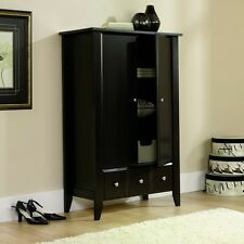 Modern New Wardrobe Clothing Storage Wood Bedroom Armoire Furniture Cabinet