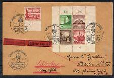 Deutsches Reich,Eilbotenbrief mit toller Frankatur,Ortsbrief Berlin,portogerecht