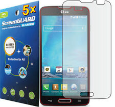 5x Clear LCD Screen Protector Guard Shield For T-Mobile LG Optimus L90 D405 D415