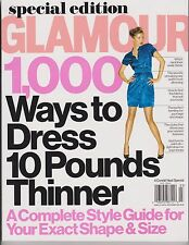 GLAMOUR Magazine Special Edition 2012, 1000 Ways to Dress 10 Pounds Thinner.