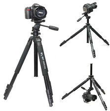 Weifeng WF-6663A Tripod include head for camera Camcorder Binoculars video
