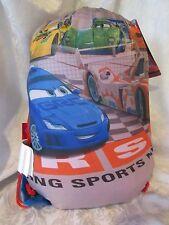 "New Disney Cars 2 Sling Bag Set 30"" X 54"" Slumber Sack & Slingbag Boys NWT"