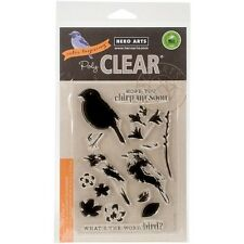 Hero Arts Poly Clear Stamps Color Layering Bird & Branch #851 CL866