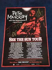 PETE MURRAY AND THE STONE MASONS SIGNED POSTER