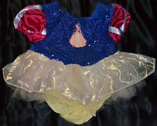 Snow White Halloween Costume Fits Baby Kids Size 18-24 Months Girls Disney Store