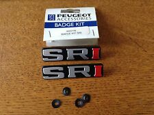 PEUGEOT 309 405 406 605 car badge mud flap kit 96021n genuine new
