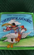 HOME MADE MACHINE WASHABLE CHILDREN'S CLOTH BOOK - MOTHER GOOSE VOLUME 3