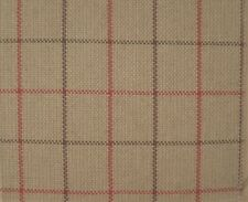 OSBORNE AND LITTLE Nina Campbell Montacute Weaves red/natural new remnant