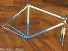 ORIGINAL VINTAGE FREJUS REYNOLDS 531 LUGGED STEEL FRAME SET