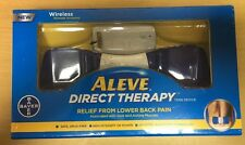 ALEVE DIRECT THERAPY TENS DEVICE WIRELESS REMOTE, Relief Lower Back Pain, New