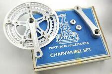 Raleigh anni'80 BICI DA CORSA Cotterless Sakae Royale chainwheel Set 40/48 DENTI 127mm