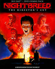 NIGHTBREED New Sealed Blu-ray + DVD The Director's Cut Clive Barker