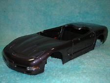 1/18 PARTS 1998 CHEVY CORVETTE BODY IN METALLIC PLUM GRAY BY MAISTO NO BOX.