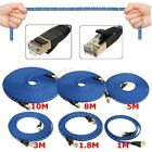 1~10M Durable Strong CAT-7 CAT7 RJ45 10Gbps Ethernet Flat Cable LAN Network Cord