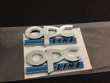 Opel OPC LINE Schriftzug Emblem,LOGO BADGE -  Pair