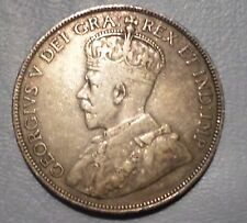 CANADA COIN 50  CENTS 1912  VF