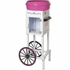 Candy Cotton Machine Cart Maker Floss Commercial Electric Pink Stand Carnival