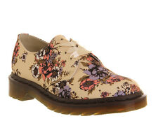 NEW Dr. Martens Lester 3-eye Shoe, Women's Natural Floral, Size 7 (5 UK) $120