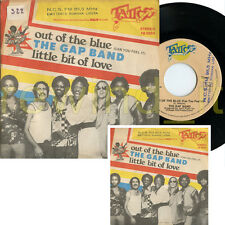 "THE GAP BAND ""OUT OF THE LOVE / LITTLE BIT OF LOVE"" RARE 45RPM (7"") 1977 ITALY"